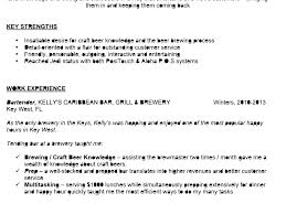 Stunning Design Bartender Resume Examples 2 Awesome Sample To Use