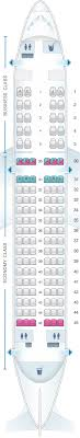 Seat Map Saudi Arabian Airlines Airbus A320 200 Business