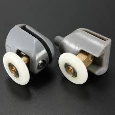 bathroom shower glass sliding door rollers top bottom wheels sku1676043 jpg sku1676044 jpg sku1676042 jpg