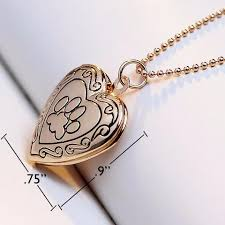 locket size photos heart shaped paw print photo locket necklace discount dog lovers