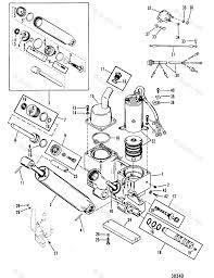 Mercury outboard by year mercury outboard oem parts diagram for power trim ponents boats