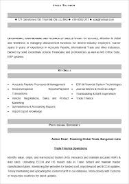 Gallery Of Accounting Resume Template Health Symptoms And Resume