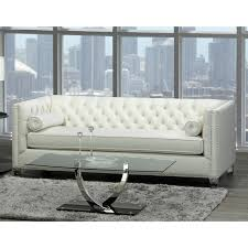 oz living furniture. Oz Modern Ivory Velvet Tufted Nailhead Sofa, Loveseat And Chair - Free Shipping Today Overstock 26658698 Living Furniture G