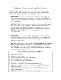 high school writing essay topics  sludgeportwebfccom high school writing essay topics