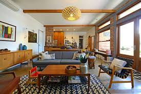 mid century modern office. mid century modern curtains living room midcentury with australian ecclectic exposed beams office