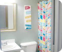 Contemporary Bathroom Decorating Ideas Bright Purple And PinkColorful Bathroom Decor