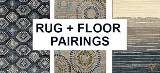 choosing a rug for your floor type and color