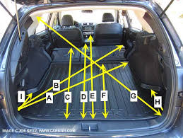 subaru outback interior dimensions image new collection