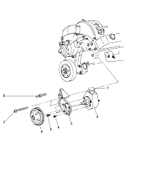 Dodge pump power steering 52039489ac dodge 360 engine pulley diagram at nhrt info