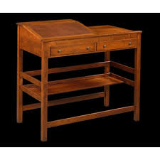 antique standing desk. Contemporary Desk WBomber Brown Leather Writing Surface On Antique Standing Desk I