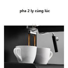 Máy pha cà phê espresso DONLIM KF6001 mẫu mới nhất cho cá nhân hoặc hộ gia  đình giảm tiếp 1,850,900đ