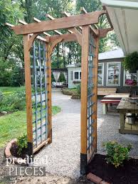 Small Picture DIY Garden Arbor with Faux Patina Build Plans Prodigal Pieces