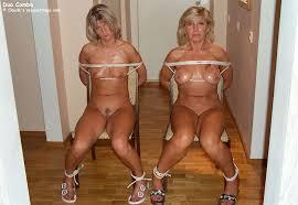Naked mature women bondage photos