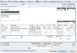 Contractor Invoice Impressive An Introduction To Progress Invoicing QuickBooks For Contractors Blog