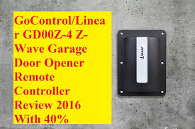 z wave garage door 2GoControlLinear GD00Z4 ZWave Garage Door Opener Remote