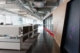 youtube beverly hills office. Simple Hills GoogleYouTubeu0027s New Beverly Hills Office  Angular Lines And Exposed  Ceiling And Youtube