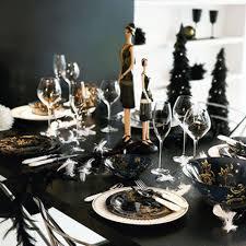 super elegant black and gold christmas