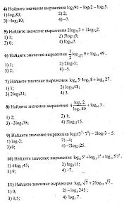 Полугодовая контрольная работа по математике класс  Лекция практикум Конспект лекции 5 Решение логарифмически