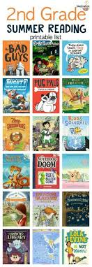 2nd grade summer reading book list for kids