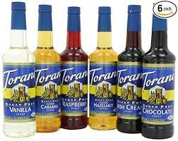 Get great deals on cinnamon sugar free coffee flavouring syrups. Amazon Com Torani Sugar Free Syrup Variety Pack 25 4 Fl Oz Pack Of 6 Syrups Grocery Gourmet Food