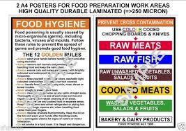 Kitchen Hygiene Rules Food Hygiene Prevent Cross Contamination Kitchen Rules 2 A4