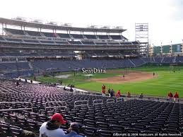 Nationals Park Concert Seating Chart Washington Nationals Nationals Park Seating Chart