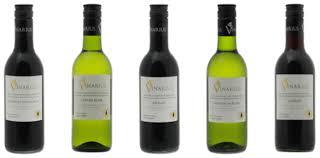 Kleine flesjes wijn van 0,25 liter - Vinarius van Paul Sapin, in rood en wi