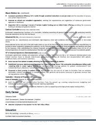Executive Resume Sample Chief Financial Officer Executive Resume Best Cfo Resume