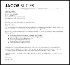 Agamjack@email.com august 12, 2013 j. Inventory Clerk Cover Letter Sample Cover Letter Templates Examples