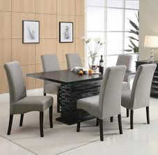 excellent incredible grey leather dining room chairs best 25 granite dining black leather dining room chairs plan