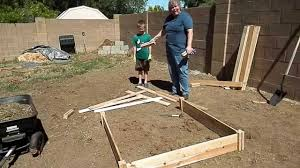 Building A Raised Bed Garden With Greenes Fence