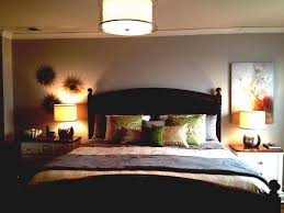bedroom overhead lighting lamps artistic flower wall painting in old fashioned room using with classic wooden bedroom overhead lighting