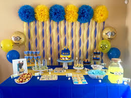 Alex's 5th Minion Birthday Party. My funnest setup YET! Tags; Minions, boys