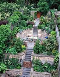 can you flatten out a very steep garden