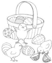 Colouring Pages Of Easter Chicks Chick Coloring Pages Chick Coloring