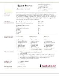 Accounts Clerk Resume Accounting Clerk Resume Without Experience Assistant For Accountant
