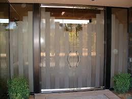 all glass front door doors all glass entry frosted etched glass door glass front door curtain