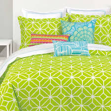 trina turk trellis lime duvet cover set fun fresh lime
