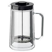 ЭГЕНТЛИГ Кофе-пресс/<b>заварочный чайник</b>, двуслойные стенки ...