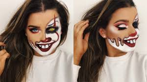 melted pennywise clown makeup tutorial rachel leary