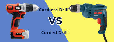 corded power drill. bosch corded power drill vs cordless difference between