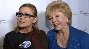 debbie reynolds 2014. Delighful 2014 Carrie Fisher Talks New U0027Star Warsu0027 Movie Intended Debbie Reynolds 2014 D