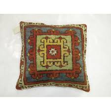 turkish konya rug pillow