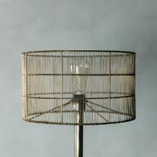 wire extra large drum shade