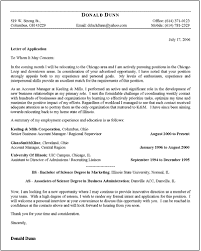 Free Job Application Letter Template