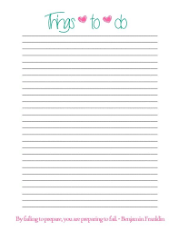 Simple Things To Do List Prints Pinterest To Do Lists