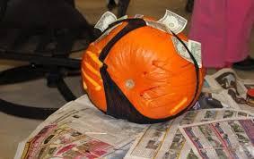 My parents won a pumpkin carving contest last year. Awkward.