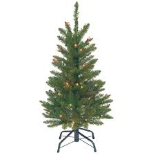 National Tree Company 7 Ft PowerConnect Kingswood Fir Pencil Tree Kingswood Fir Pencil Christmas Tree