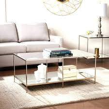 luxury gold glass coffee table designing home round metal and white small side with legs