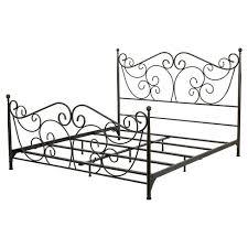 Lorelei Metal Bed Frame Iron Bed Frames King As California King ...